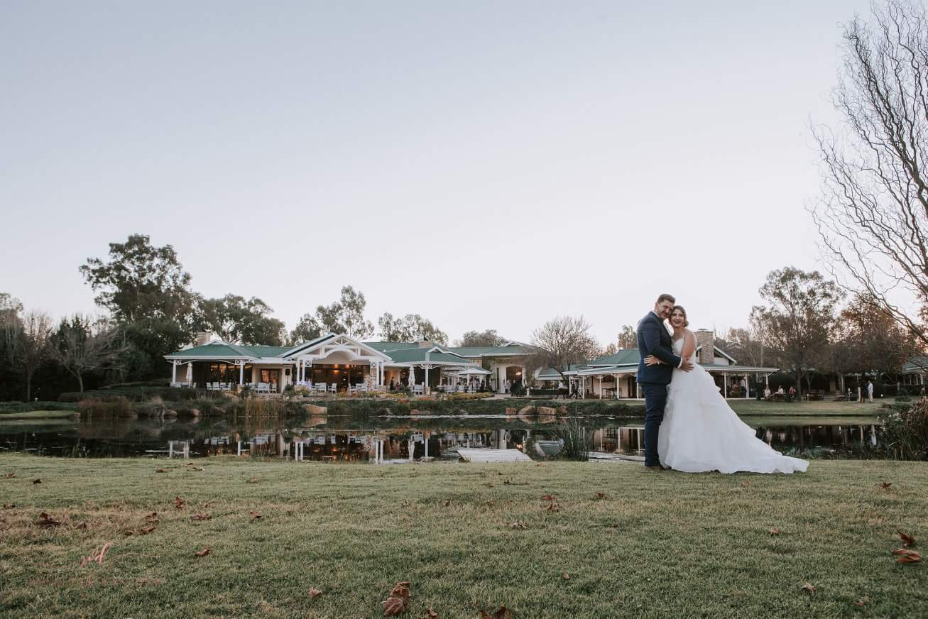 Winter wedding at Oxbow Country Estate